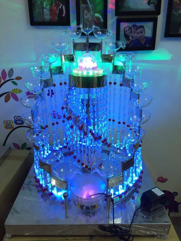 tháp ly inox